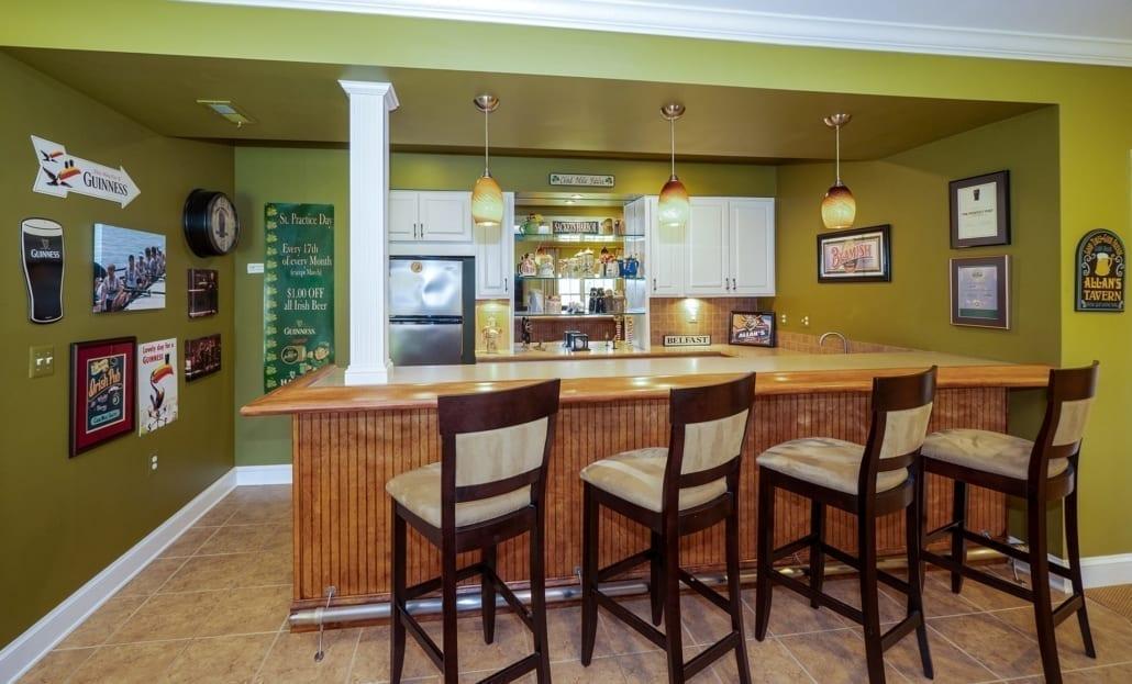 Basement Remodeling Bar Ideas